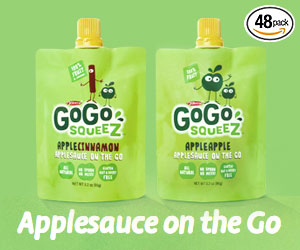 GoGo Squeez appleapple (at Amazon.com)
