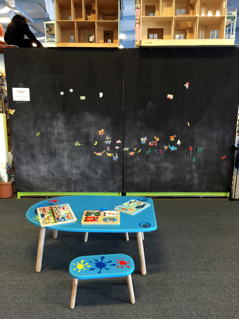 Playtime Oasis in Scottsdale chalkboard