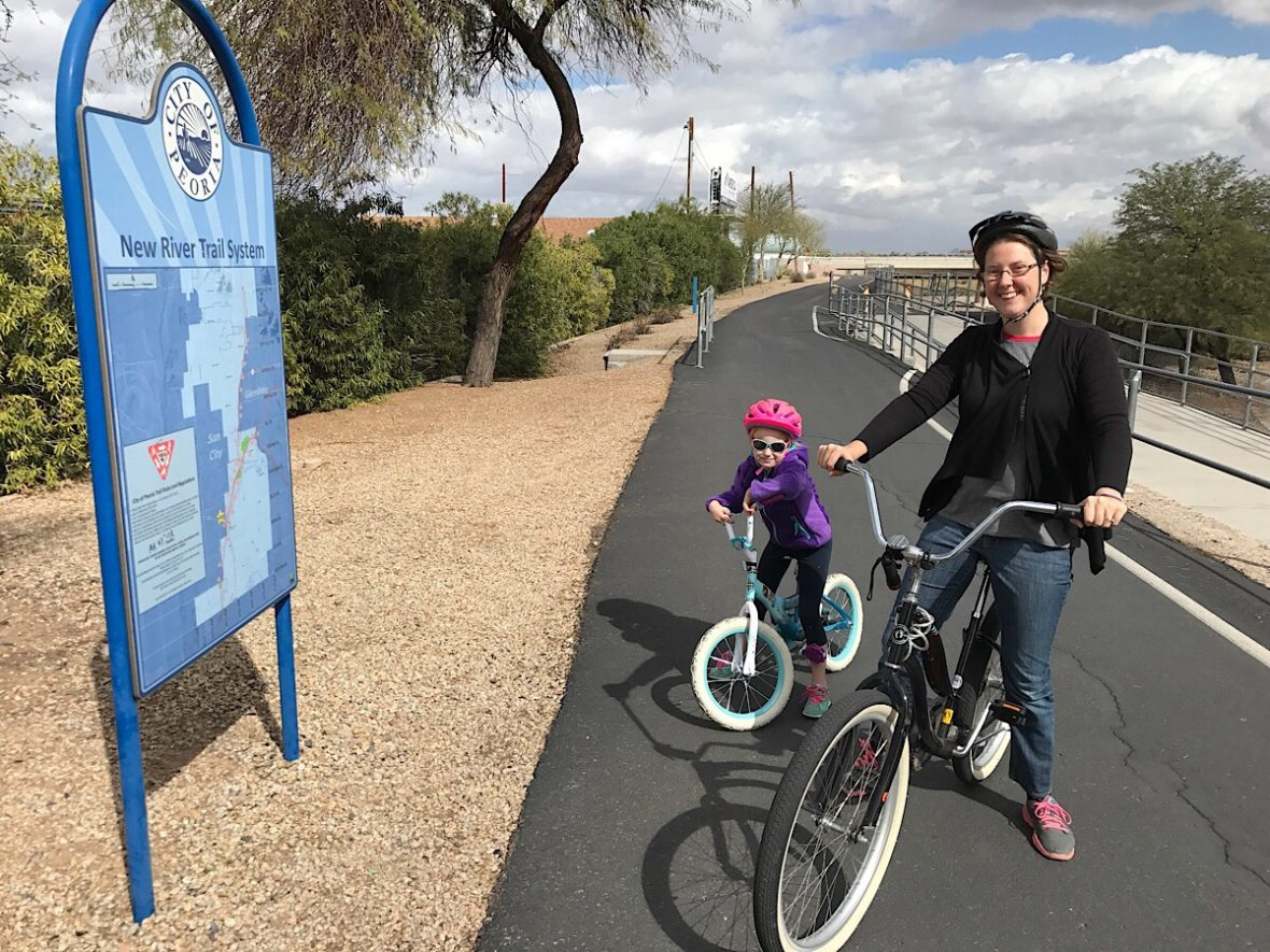 Best kid friendly bike trails near me