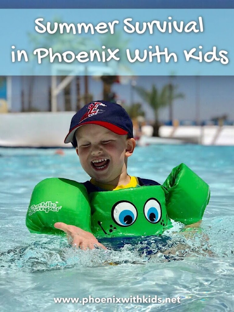 Summer Survival Tips in Phoenix With Kids